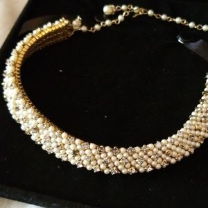 Vintage 50's pearl adjustable necklace